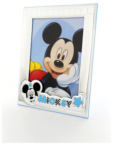 Disney Mickey Mouse Portrait Photo Frame Silver/Blue [18x24cm]