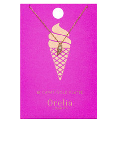Orelia Gold-Plated Ice Cream Ditsy Necklace
