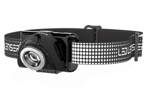 LED Lenser Seo7R Series Black Headlamp
