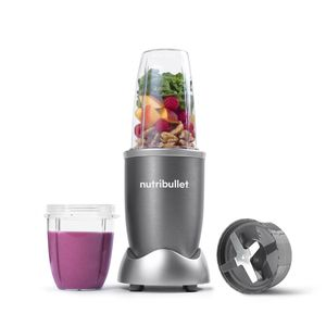 NutriBullet 6-Piece Blender/Mixer Gray
