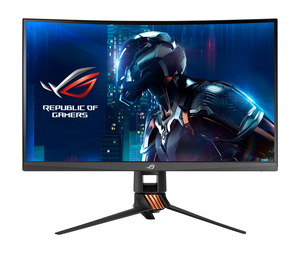 "ASUS PG27VQ 27"" Wide Quad HD TN Black Curved Computer Monitor"
