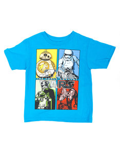Mad Engine Star Wars Primary Secondary Turquoise Juvy T-Shirt