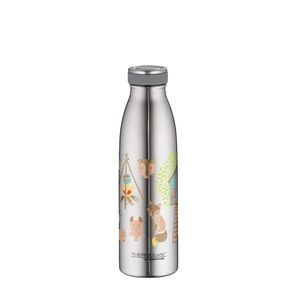 Thermos Thermocafe By Double Wall Stainless Steel Insulated Bottle 500 ml Forest