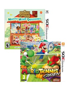 Animal Crossing Ltd. Edition +Mario Tennis Open [Bundle]