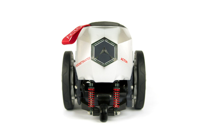 Acton R8 Rocket Skates Terminator Chrome +Ego