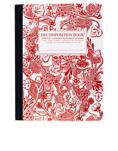 Decomposition Notebook Wild Garden One Color [Large]