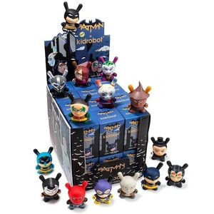 Kidrobot Batman X Dunny Figure Blind Box 3 Inch [Includes 1]