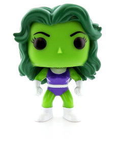 Funko Pop Marvel She-Hulk Glow In the Dark Vinyl Figure