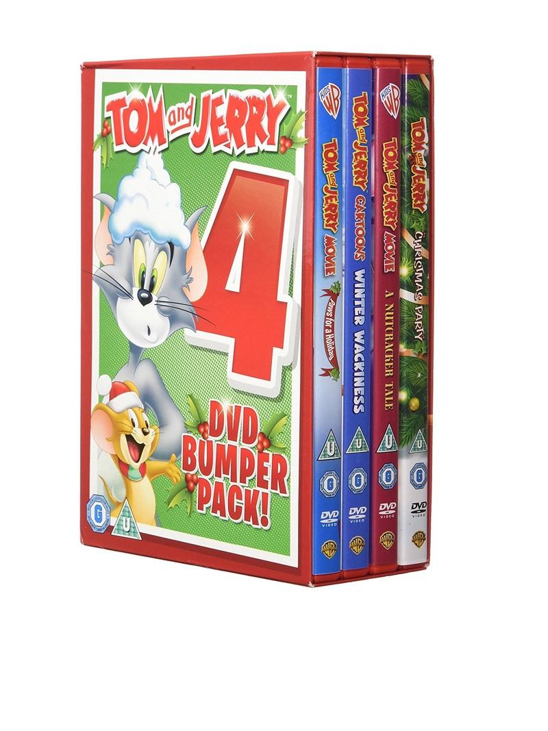 Tom & Jerry Christmas Quad [4 Disc Set] | Kids + Family | Film & TV ...