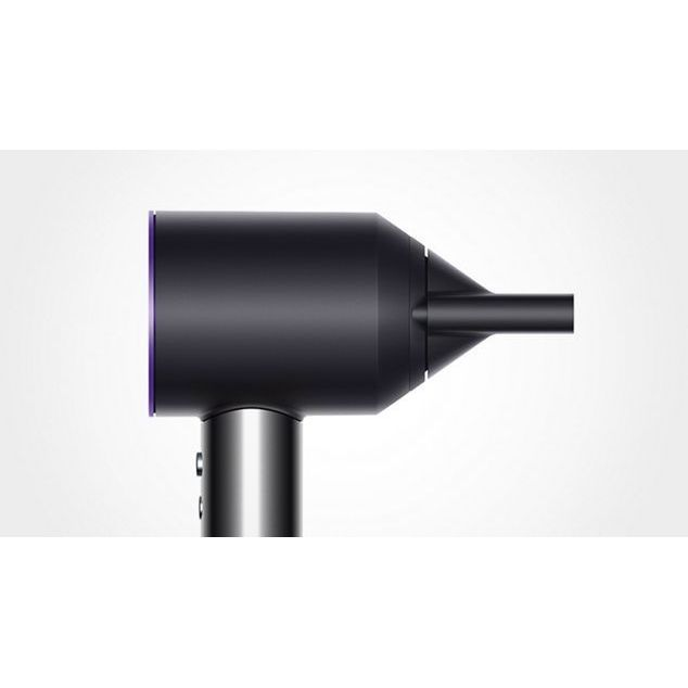 Dyson Supersonic Hair Dryer with Black Leather Presentation Case (Black/Purple)