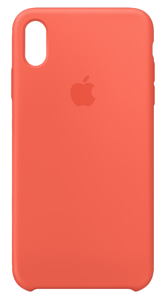 innovative design 20a06 fec0b Apple Silicone Case Nectarine for iPhone XS Max