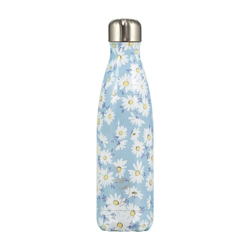 Chilly's Bottles Floral Daisy Water Bottle 500ml