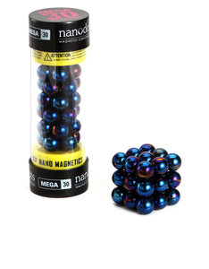 Mega Nanodots 30 Magnetic Dots Blue