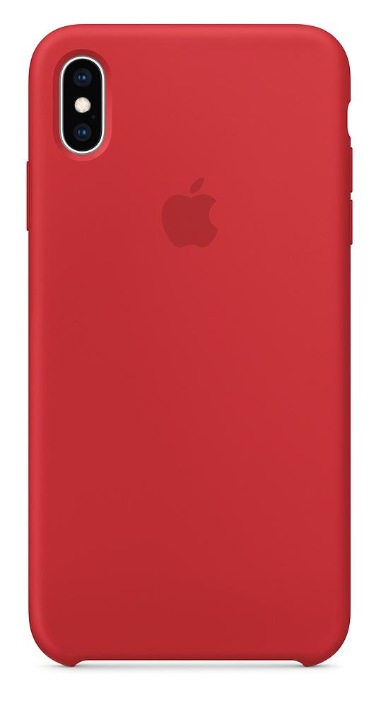 Apple Silicone Case (Product)Red for iPhone XS Max