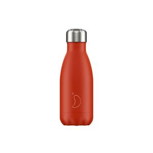 Chilly's Bottle Neon Red Water Bottle 260 ml