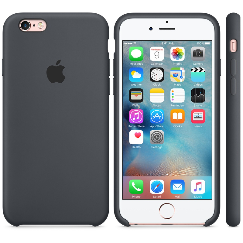 Apple Silicone Case Charcoal Grey iPhone 6S