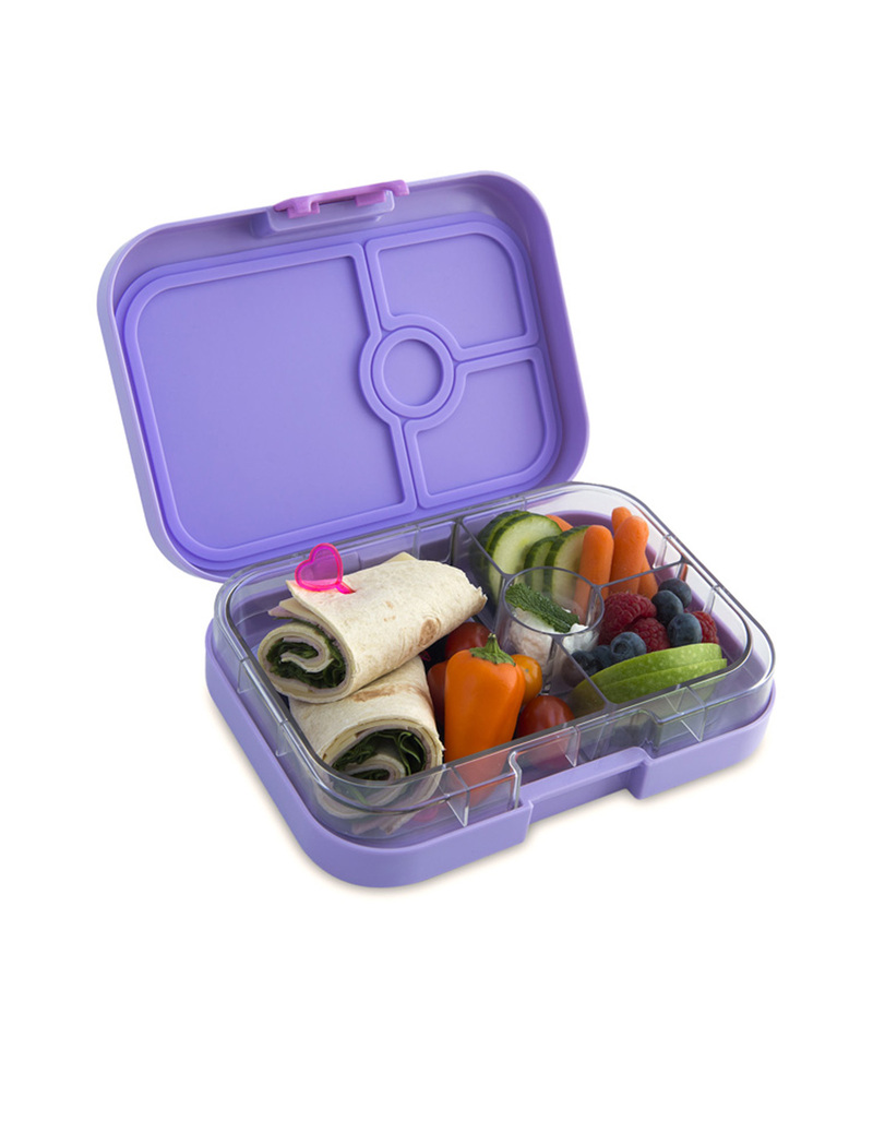 yumbox remy purple panino lunchbox 4 compartments lunch boxes lunch bento boxes. Black Bedroom Furniture Sets. Home Design Ideas