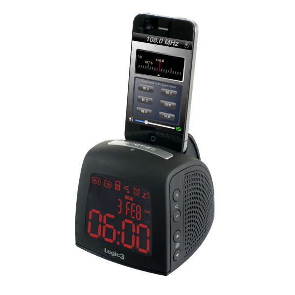 Istation Time Curve Black Iphone/Ipod