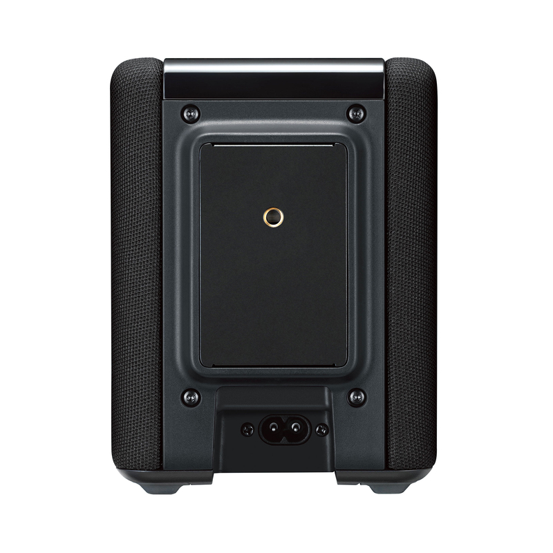 yamaha wx 010 black speaker speakers docks. Black Bedroom Furniture Sets. Home Design Ideas