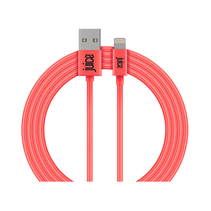 Juice Lightning Cable Coral 2M Round