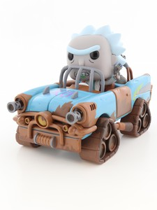 Funko Pop Rides Rick & Morty Mad Max Rick Vinyl Figure