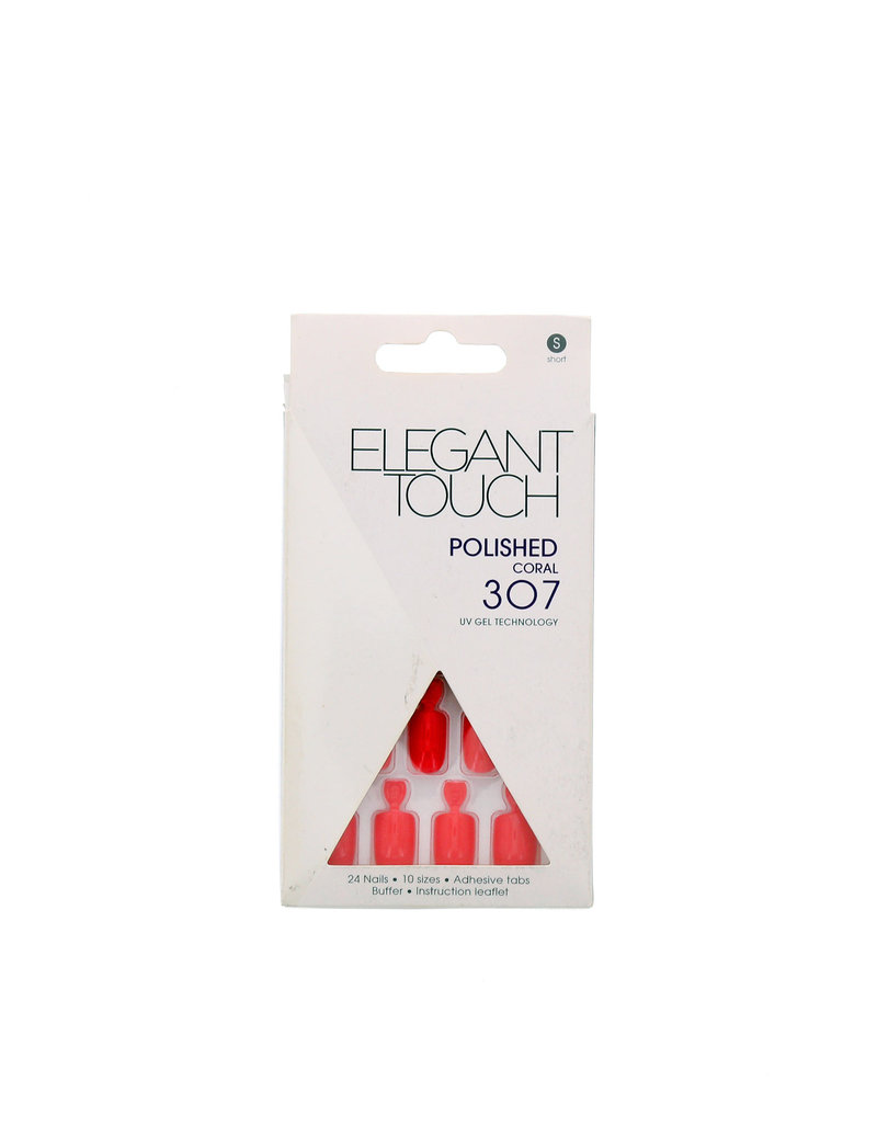 Elegant Touch Polished Nails Coral 307