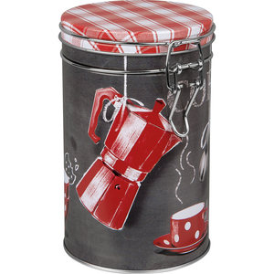 Orval Creations Kitchen Storage Red Canister