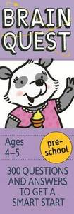 Brain Quest Preschool Revised 4Th Ed