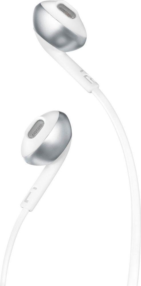 7577e61a623 JBL T205 In-Ear Binaural Wired Earphones White | In-Ear Headphones ...