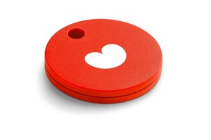 CHIPOLO LOST & FOUND RED VALENTINE'S EDITION TRACKER