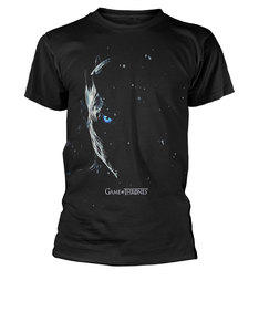 Plastichead Game of Thrones S7 Poster Black T-Shirtl
