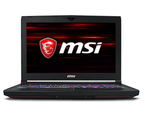 "MSI Gaming GT63 8RG Titan 2.2GHz i7-8750H 15.6"" Black Notebook"