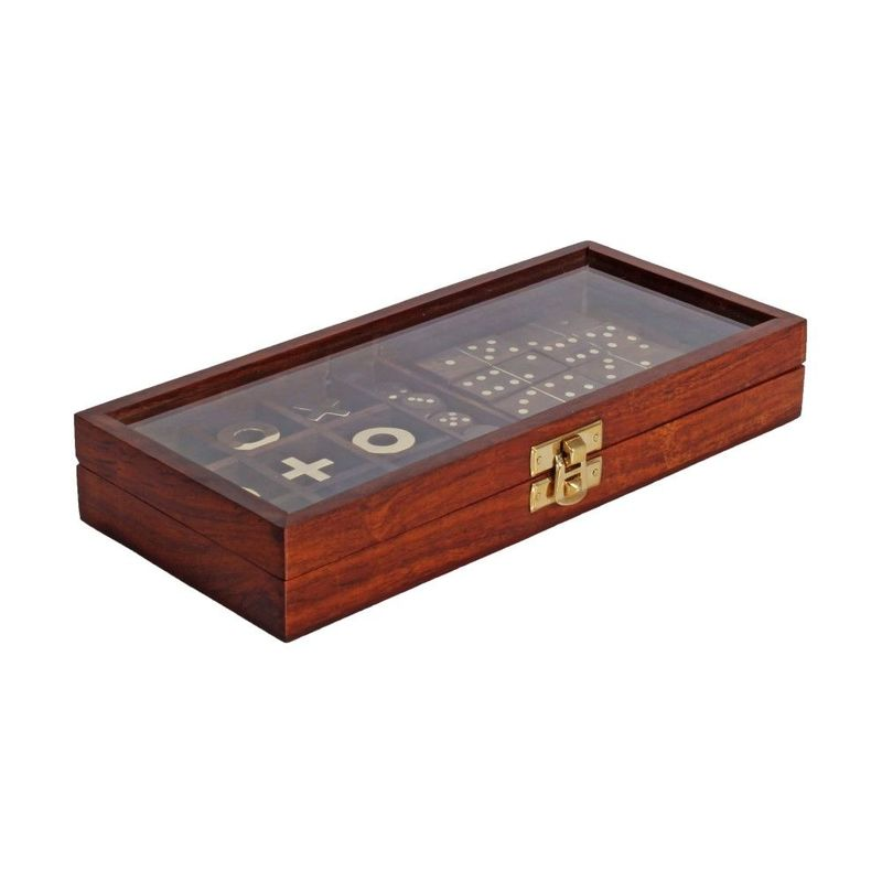 Harvey Makin Emporium Collection Dominoes, Dice, Tic Tac Toe 20/24