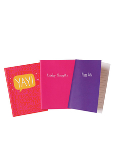 Happy Jackson Sets Of 3 Mini Cheerful Books