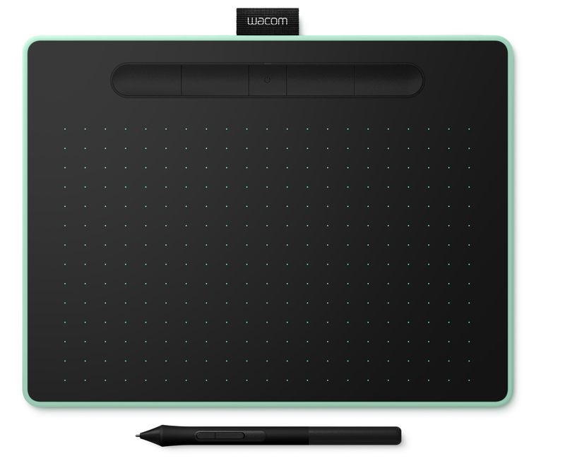 Wacom Intuos M Pistachio Bluetooth Graphic Tablet