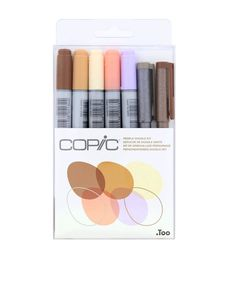 Copic Ciao Doodle Kit People/Multiliner [Set of 7]