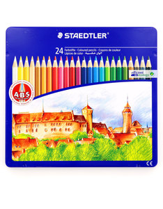 Staedtler Coloured Pencil Set [Set of 24]