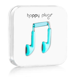 Happy Plugs Turquiose Earphones