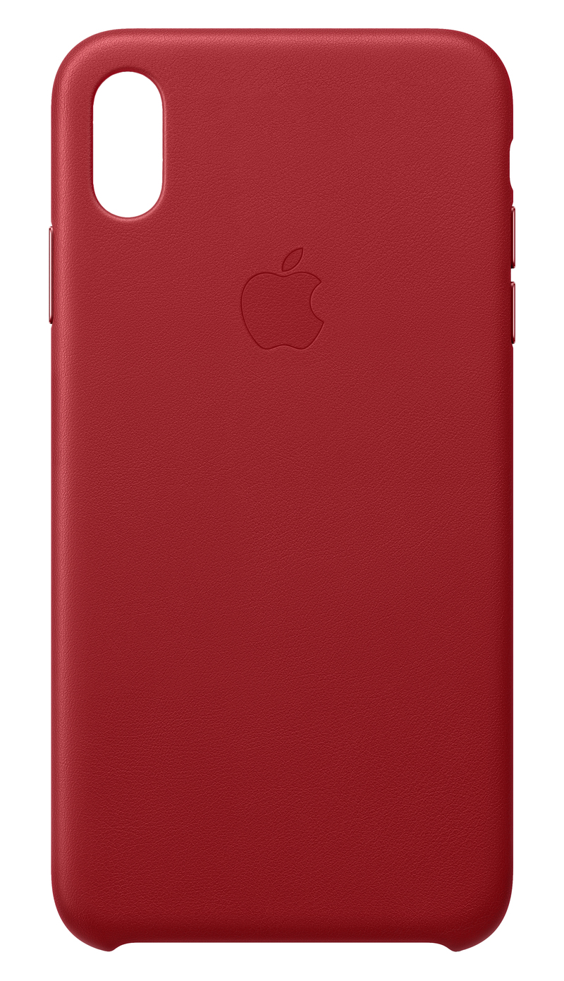 save off 81b27 17546 Apple Leather Case (Product)Red for iPhone XS Max