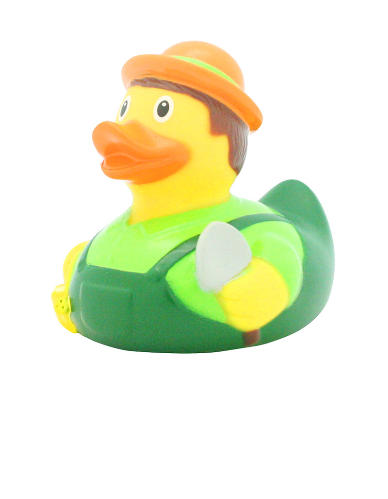 Lilalu Gardener Rubber Duck | Bath & Water Toys | Toys | Gifts ...