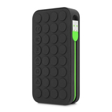 Incase Portable Power 5400Mah Black Matte/Fluro Green