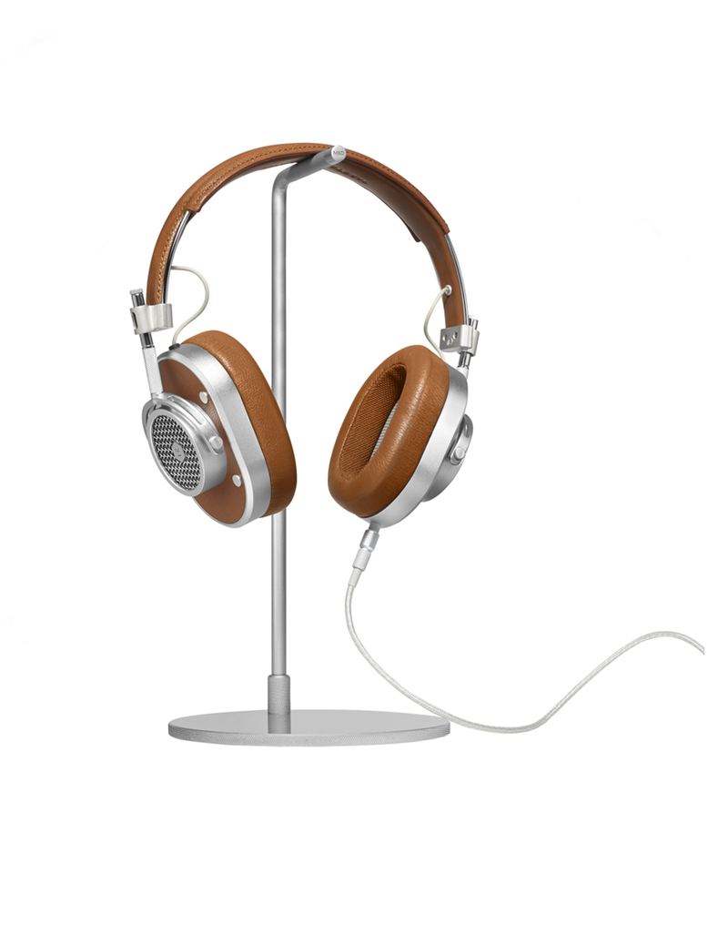 Master & Dynamics Mh40S2 Brown/Silver Over Ear Headphones