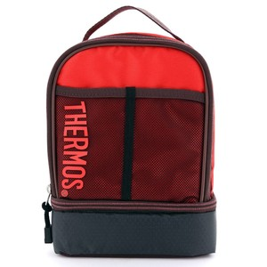 Thermos Dual Lunch Kit Lunch Bag Red/Maroon