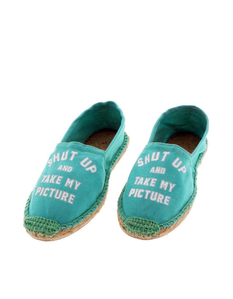 Acqua Shut Up Water Green Women'S Espadrillas Size 38