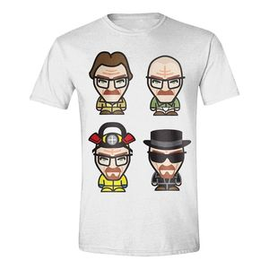 Breaking Bad Heisenberg Pop Icon Men'S T-Shirt White M