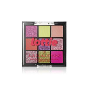 Lottie Laila Loves Palette Neon 9 Shade E/S Palette Miami Pinks & Greens