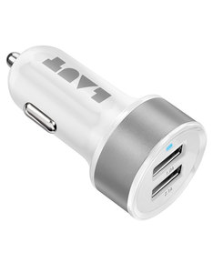 Laut Power Dash White Usb 3.1A Car Charger