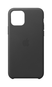 Apple Leather Case Black for iPhone 11 Pro