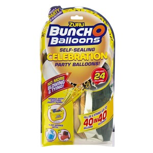 Bunch O Balloons Party Refill Mixed Pack Black/Gold/White