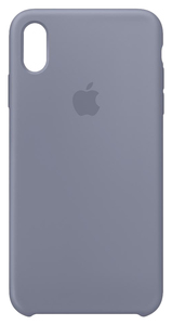APPLE SILICONE CASE LAVENDER GREY FOR IPHONE XS MAX